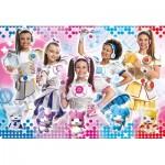 Puzzle  Clementoni-23737 XXL Teile - Miracle Tunes