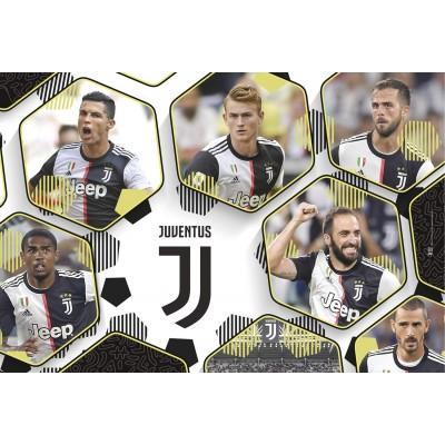 Puzzle  Clementoni-23743 XXL Teile - Juventus 2020