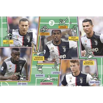 Puzzle  Clementoni-23744 XXL Teile - Juventus 2020