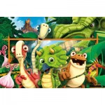 Puzzle  Clementoni-23747 XXL Teile - Gigantosaurus