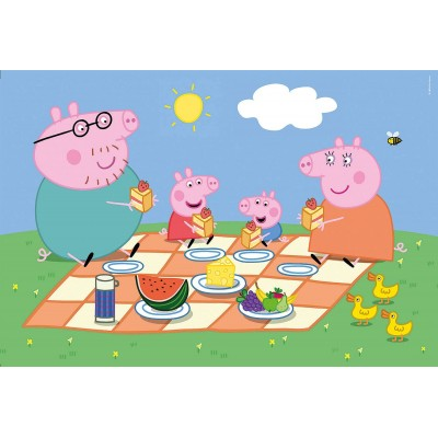 Puzzle  Clementoni-24028 Peppa Pig