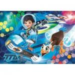 Clementoni-24052 Riesen-Bodenpuzzle - Disney: Miles