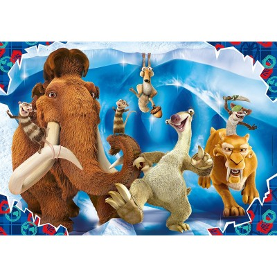 Clementoni-24055 Riesen-Bodenpuzzle - Ice Age