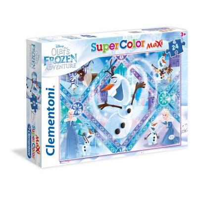 Puzzle  Clementoni-24072 XXL Teile - Frozen - Die Eiskönigin