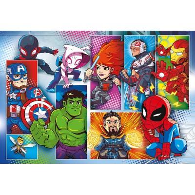 Puzzle  Clementoni-24208 XXL Teile - Marvel Super Heroes
