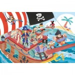 Puzzle  Clementoni-24209 XXL Teile - Piraten
