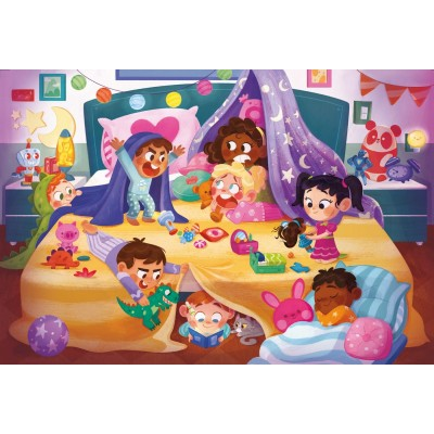 Puzzle  Clementoni-24213 XXL Teile - Nighty Night