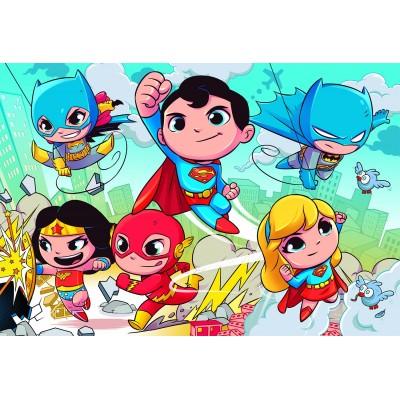 Puzzle  Clementoni-24219 XXL Teile - DC Super Friends