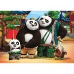 Clementoni-24475 Riesen-Bodenpuzzle - Kung Fu Panda 3