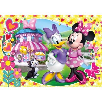 Clementoni-24480 Riesen-Bodenpuzzle - Minnie