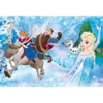Clementoni-24482 Riesen-Bodenpuzzle - Frozen