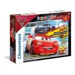 Clementoni-24489 Riesen-Bodenpuzzle - Cars 3