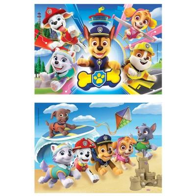 Puzzle  Clementoni-24776 XXL Teile - Paw Patrol - 2x20 Teile