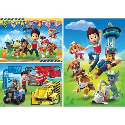 Puzzle  Clementoni-25209 Paw Patrol - 3x48 Teile
