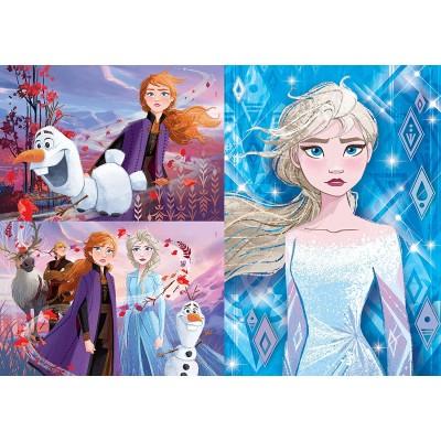 Clementoni-25240 3 Puzzles - Disney Frozen 2 (3x48)