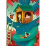 Puzzle  Clementoni-25253 Fantasyland - 3x48 Teile