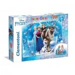 Clementoni-25447 Riesen-Bodenpuzzle - Frozen