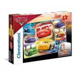Clementoni-25455 Riesen-Bodenpuzzle - Cars