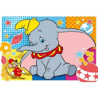 Puzzle  Clementoni-25461 XXL Teile - Dumbo