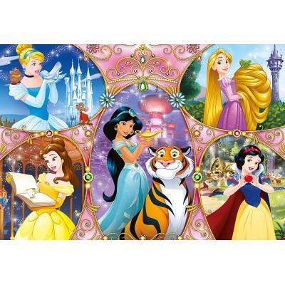 Clementoni-25463 Giant Floor Puzzle - Disney Princess