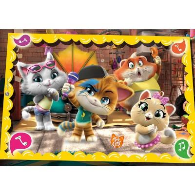 Puzzle  Clementoni-26052 44 Cats
