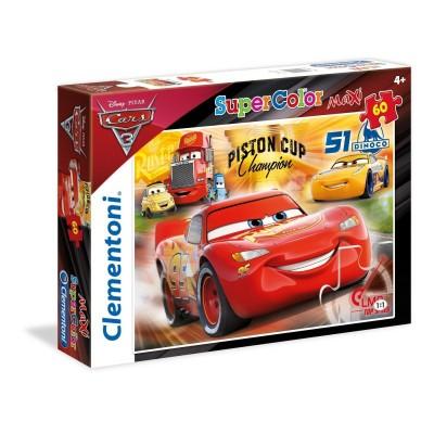 Puzzle  Clementoni-26424 XXL Teile - Cars 3