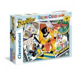 Puzzle  Clementoni-26432 XXL Teile - Duck Tales