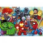 Puzzle  Clementoni-26454 XXL Teile - Marvel Super Heroes