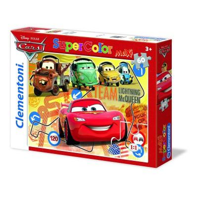 Clementoni-26739 Maxi Puzzle Cars