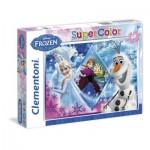 Puzzle  Clementoni-26917 Eiskönigin