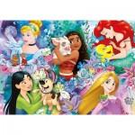 Puzzle  Clementoni-26995 Disney Princess
