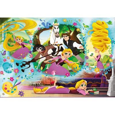 Puzzle  Clementoni-27084 Disney Tangled