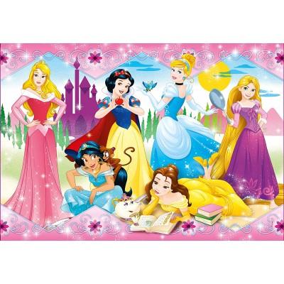 Puzzle  Clementoni-27086 Disney Princess