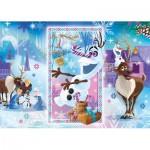 Puzzle  Clementoni-27093 Frozen - Olaf