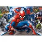 Clementoni-27116 Spiderman Supercolor Puzzle