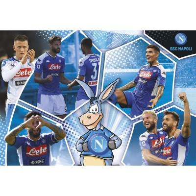 Clementoni-27139 SSC Napoli Supercolor Puzzle