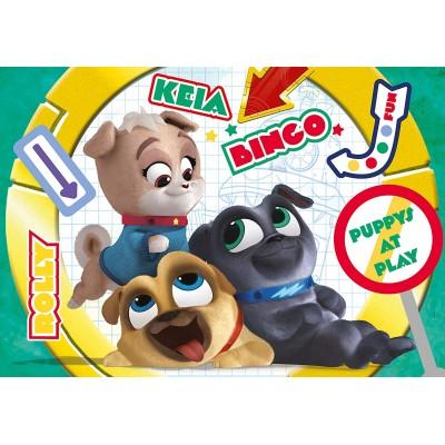 Clementoni-27147 Puppy Dog Pals Supercolor Puzzle