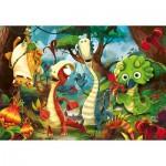 Puzzle  Clementoni-27192 Gigantosaurus