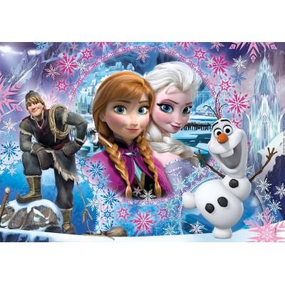Puzzle Clementoni-27248 Frozen - Die Eiskönigin