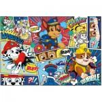Clementoni-27261 Paw Patrol-Supercolor Puzzle