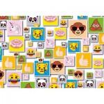 Clementoni-27285 Emoji Supercolor Puzzle