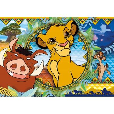 Puzzle  Clementoni-27287 Lion King