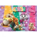 Puzzle  Clementoni-27288 44 Cats