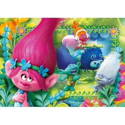 Puzzle  Clementoni-27961 Trolls
