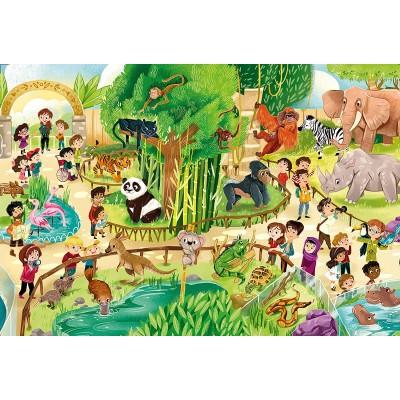Puzzle  Clementoni-28505 XXL Teile - Zoo