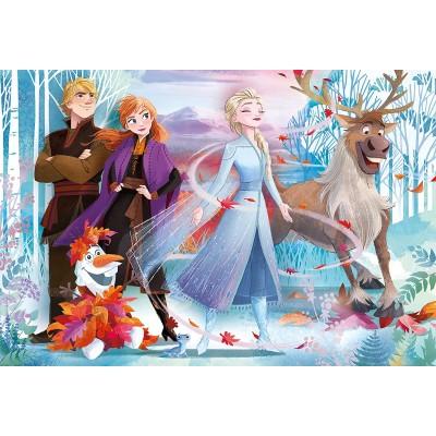 Puzzle  Clementoni-28513 XXL Teile - Supercolor Disney Frozen 2