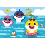 Puzzle  Clementoni-28519 XXL Teile - Baby Shark