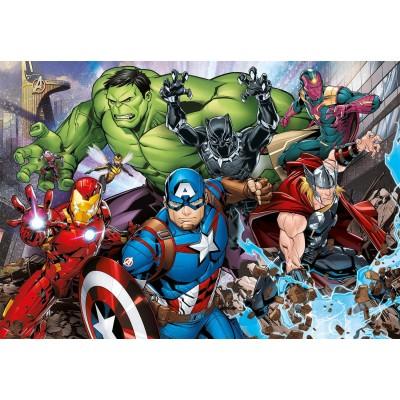 Puzzle  Clementoni-29107 Marvel The Avengers