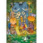 Puzzle  Clementoni-29204 Supercolor Mordillo