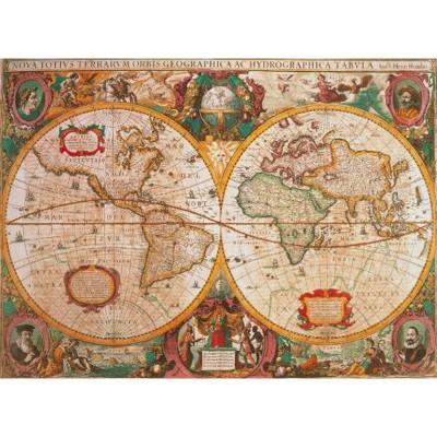 Puzzle  Clementoni-31229 Antike Weltkarte